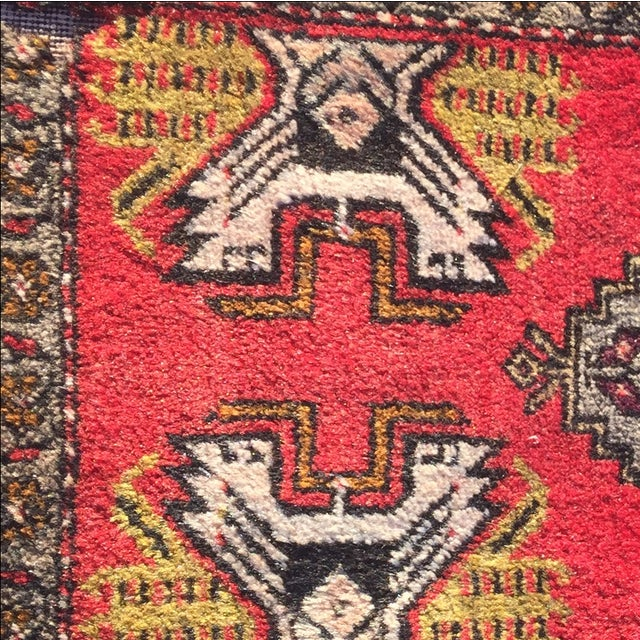 Anatolian Persian Rug - 1'6'' x 3'5'' - Image 6 of 9