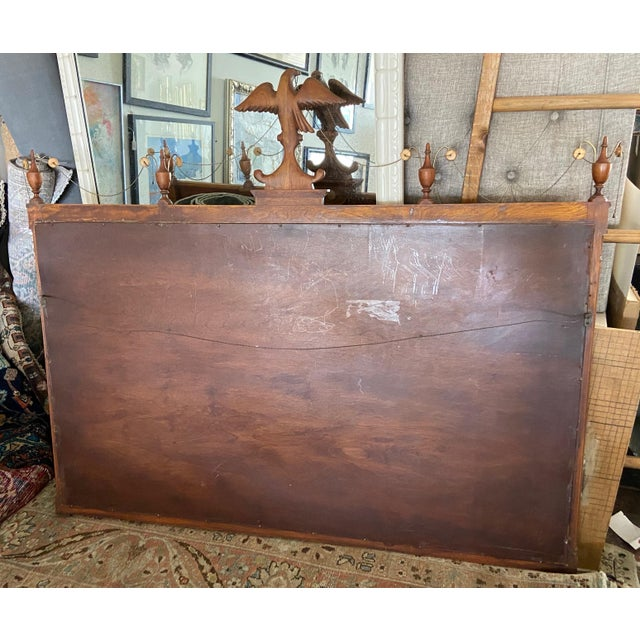 Federal Style Three Panel Eagle Mirror For Sale In Los Angeles - Image 6 of 8