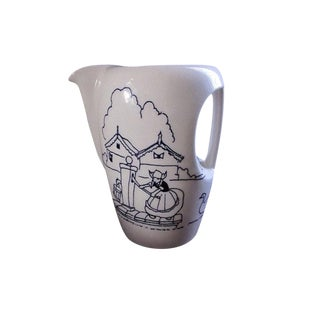 Merrie Dutch Pitcher by Hollydale Pottery, California