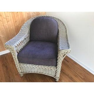 Palecek Designer Lounge Chair & Ottoman - a Pair Preview