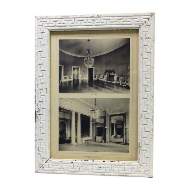 McKim, Mead & White original photograph of the 1903 renovation of the interior of The White House. Photos include The Blue...
