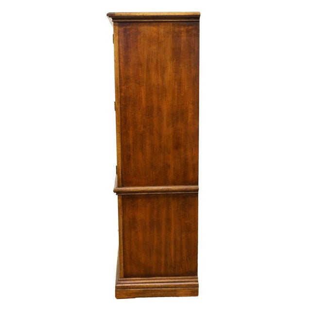 """20th Century Italian American of Martinsville 40"""" Door Chest/Armoire For Sale - Image 10 of 13"""