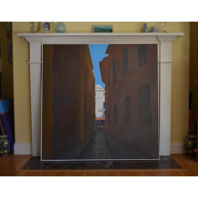 "Paint ""Memory of Seville"" Large Contemporary Painting by Stephen Remick For Sale - Image 7 of 11"