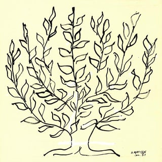Henri Matisse-The Bush (Small)-Serigraph