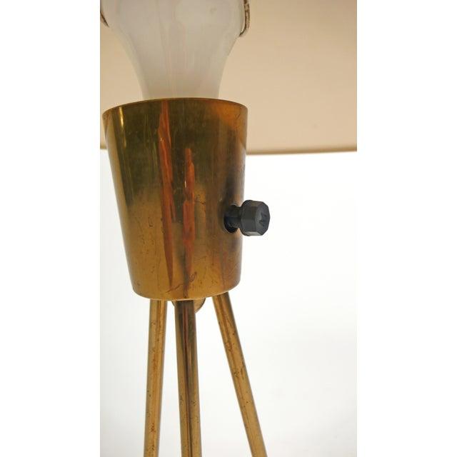 Lightolier Vitrolite Lamp For Sale - Image 5 of 7