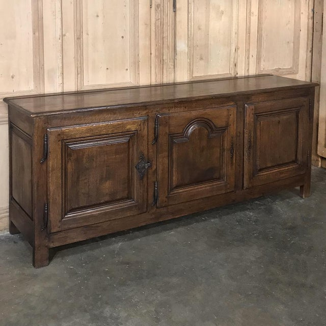 18th Century Country French Provincial Low Buffet represents the essence of the genre, with tailored lines expertly...