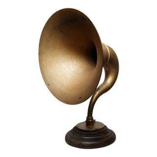 1920s Trimm Concert Model Metal Speaker Horn