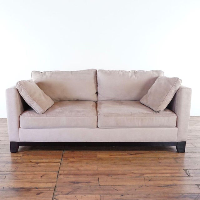 Modern Bauhaus Upholstered Sofa For Sale In San Francisco - Image 6 of 6