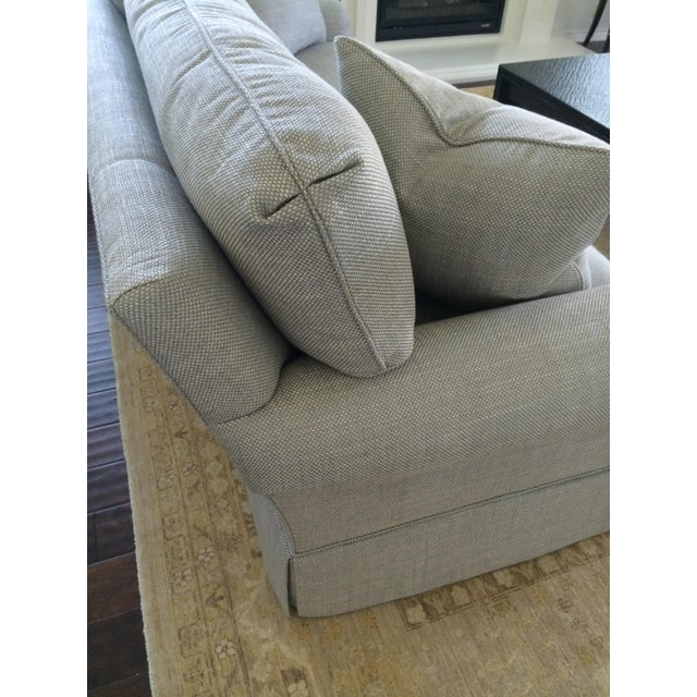 Baker Furniture Custom Sofa With Bill Sofield Fabric - Image 4 of 8