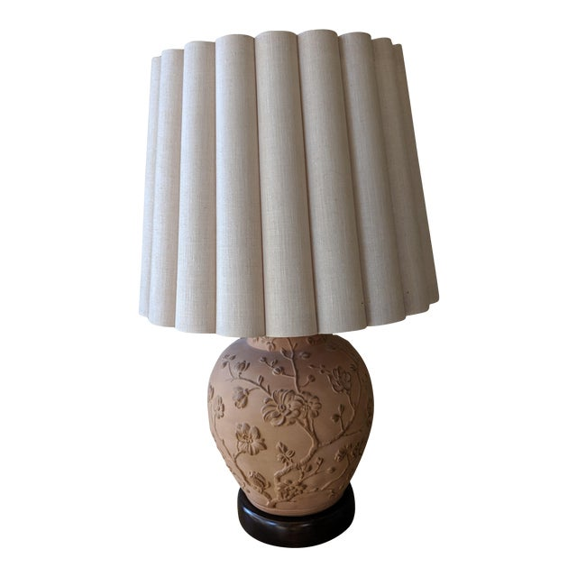 Vintage Frederick Cooper Asian Inspired Table Lamp For Sale
