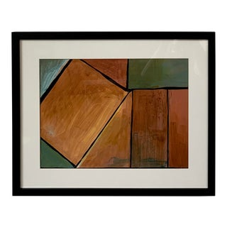 Vintage Abstract Painting For Sale