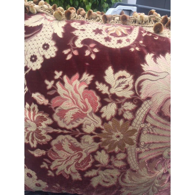 Traditional Janet Yonati Silk Velvet Pillows - a Pair For Sale - Image 10 of 12