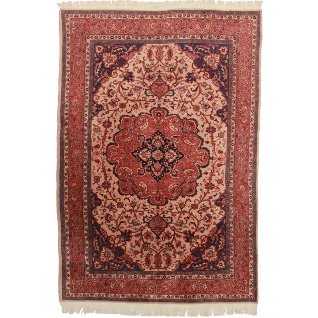 Hand-Knotted Turkish Sparta Rug - 6′9″ × 9′11″ For Sale