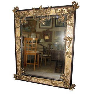 John Richard Gilt Wood Mirror For Sale