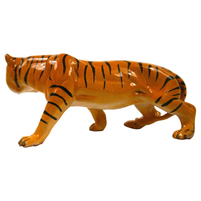 1950's Ceramic Italian Tiger - Image 3 of 6