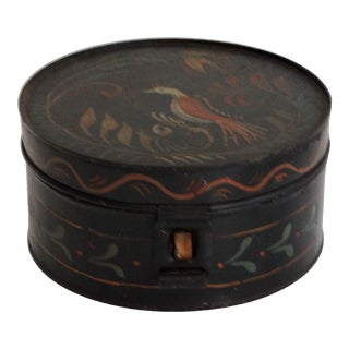 19th- Century Antique Toleware Spice Canister Set For Sale