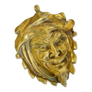 Brass Devil Ashtray Catch-All For Sale