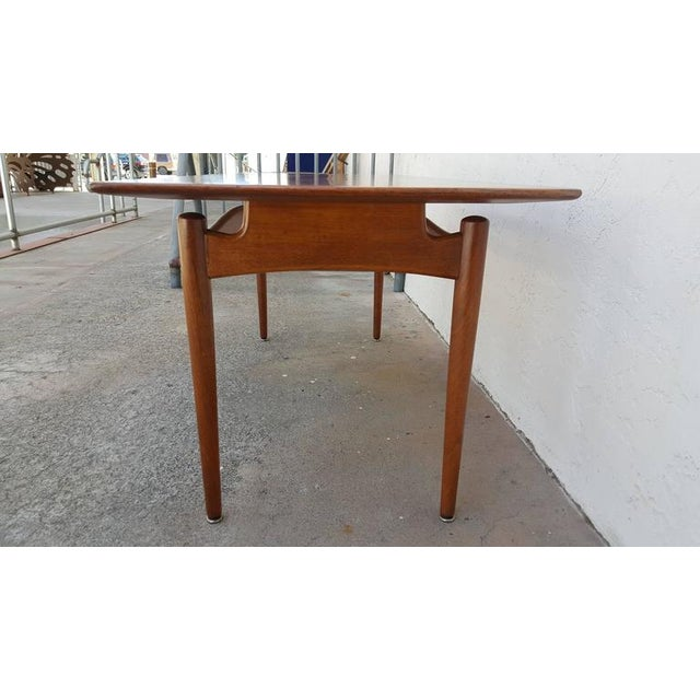 Finn Juhl Teak Coffee Table - Image 5 of 8