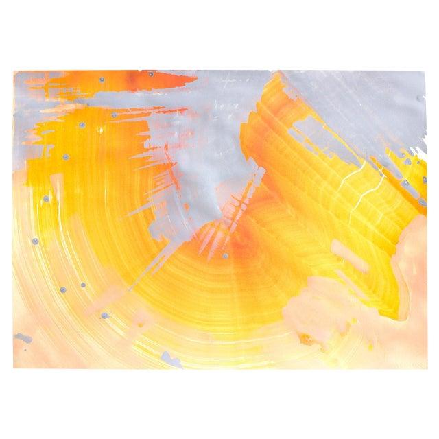 """Orange Opal"" Original Painting - Image 1 of 2"