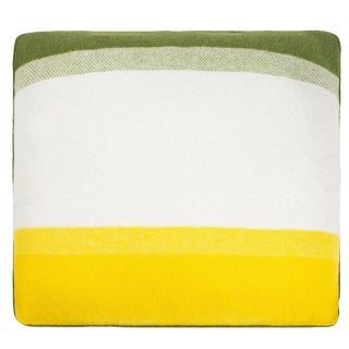 Array Cashmere Pillow, Green For Sale
