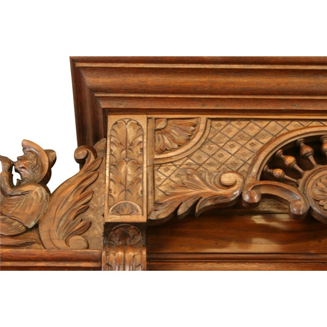Brown Antique Chestnut French Brittany Style Buffet For Sale - Image 8 of 8