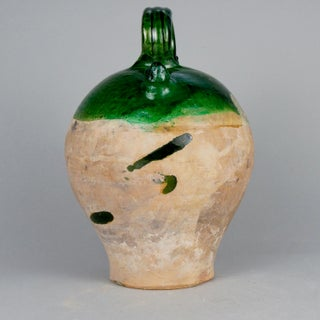 French Glazed Terra Cotta Pottery Jug or Cruche Preview