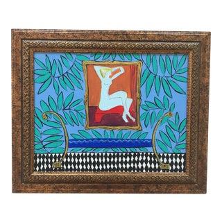 Judy Henn Original Interior Painting For Sale