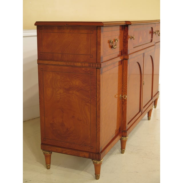 Italian Inlaid Walnut Sideboards - A Pair - Image 8 of 11