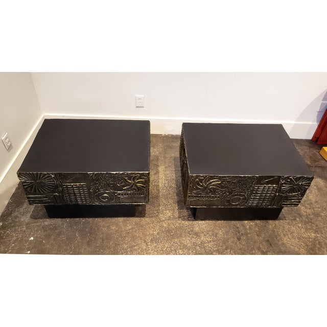 Adrian Pearsall Brutalist Side or Coffee Tables a Pair For Sale In Dallas - Image 6 of 11