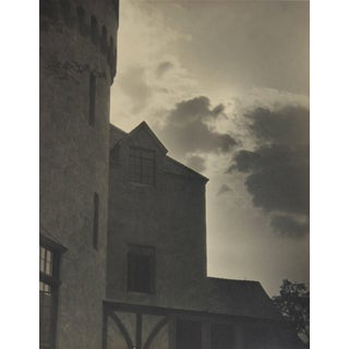 """Dr. F.W. Buraky """"Castle & Clouds"""" Photograph, Circa Late 1920s For Sale"""
