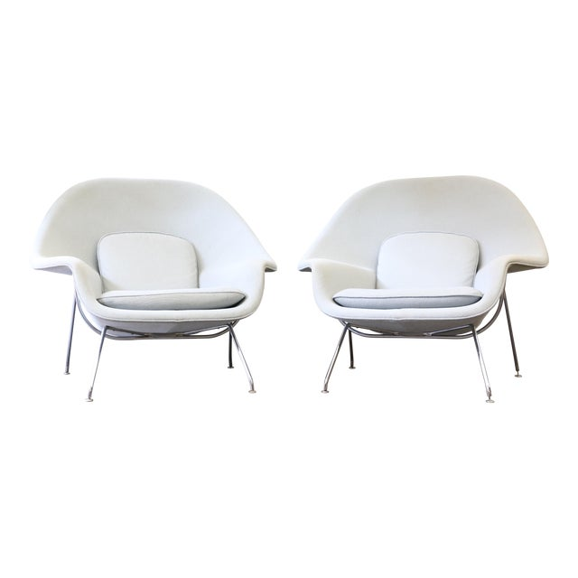 Pair of Knoll Womb Chairs by Eero Saarinen For Sale