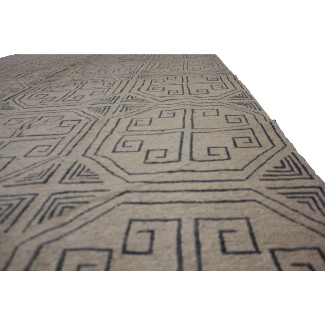 """Aara Rugs Inc. Hand Knotted Modern Kilim - 6'10"""" X 10'0"""" For Sale - Image 5 of 5"""