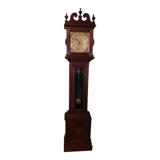 Vintage Colonial Grandfather Clock For Sale