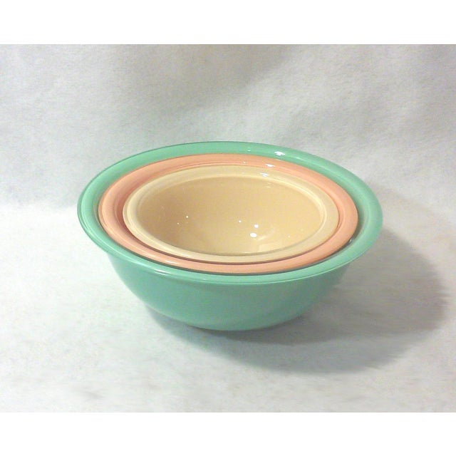 1980's Pyrex Mixing Bowls - Set of 3 - Image 3 of 4