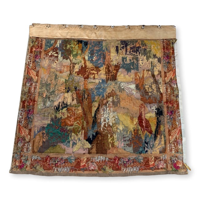 Late 19th Century French Des Bois Tapestry- 6 X 6' For Sale - Image 9 of 13