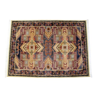 Contemporary Wool Mirage Area Rug Carpet, 1990s For Sale
