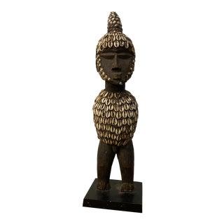 Yoruba Tribal of Ibeji Figure With Cloaks. For Sale