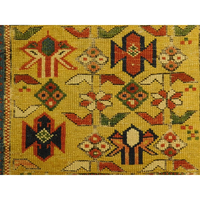 1900s Antique Caucasian Shirvan Runner For Sale - Image 10 of 13