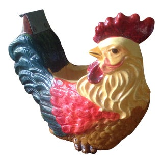 Vintage Rooster Tape Dispenser For Sale