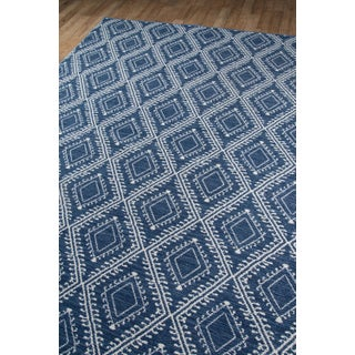 Erin Gates by Momeni Easton Pleasant Navy Indoor/Outdoor Hand Woven Area Rug - 7′6″ × 9′6″ Preview