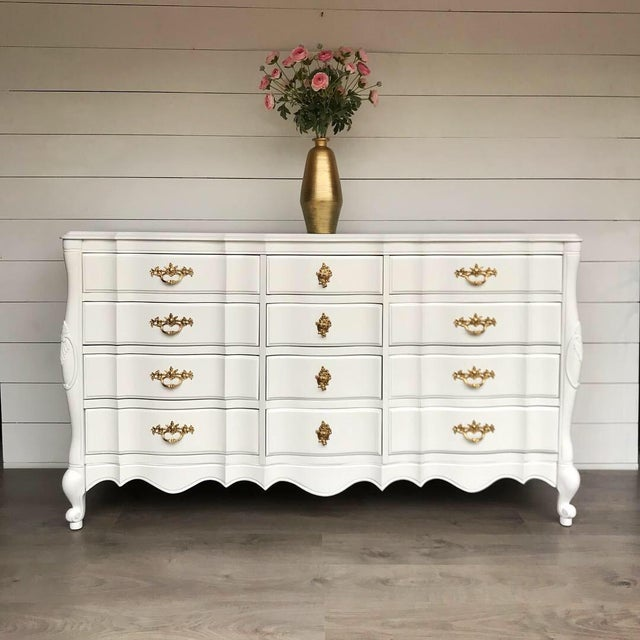 1970s French Provincial Dresser For Sale - Image 10 of 10