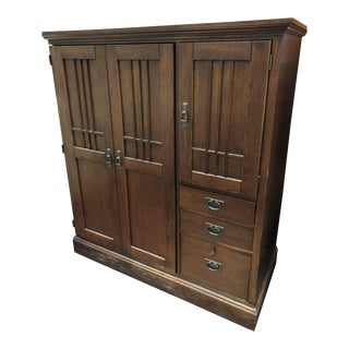 Hooker Furniture Large Mission Armoire/Cabinet