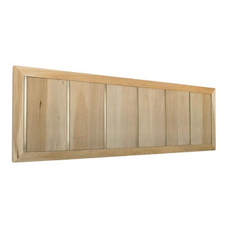 Sunwashed King Sized Headboard For Sale