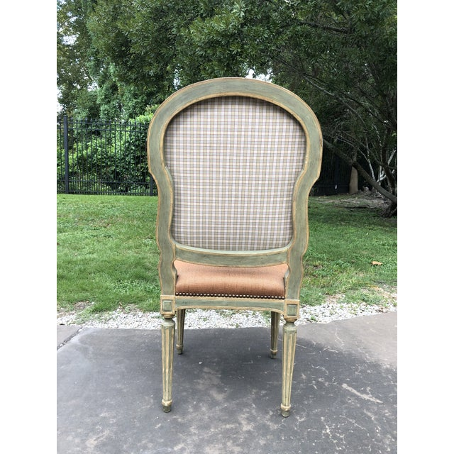 Dennis and Leen Dennis and Leen Louis XVI Side Chair For Sale - Image 4 of 5