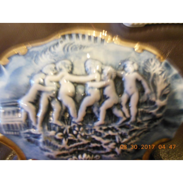 Early 20th Century Italian Color Capodimonte Trinket Box For Sale - Image 5 of 7