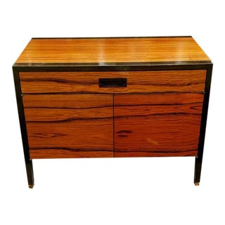 Mid-Century Modern Harvey Probber Mahogany & Rosewood Cabinet For Sale