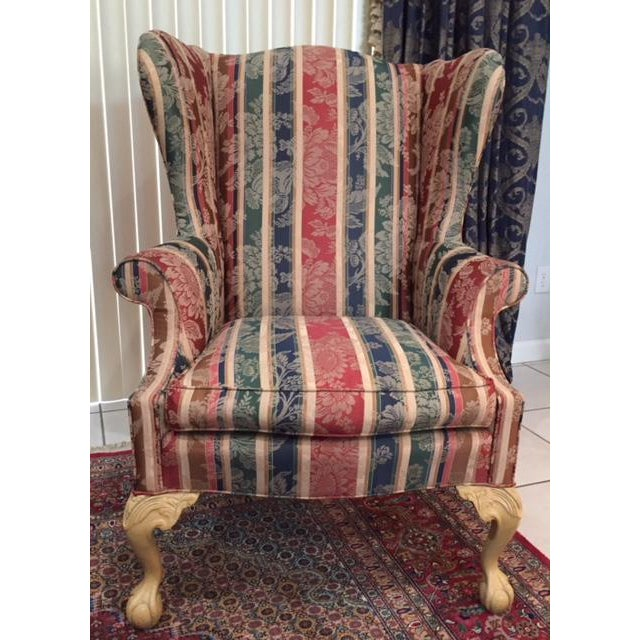 Sherrill Traditional Wingback Chair - Image 3 of 3