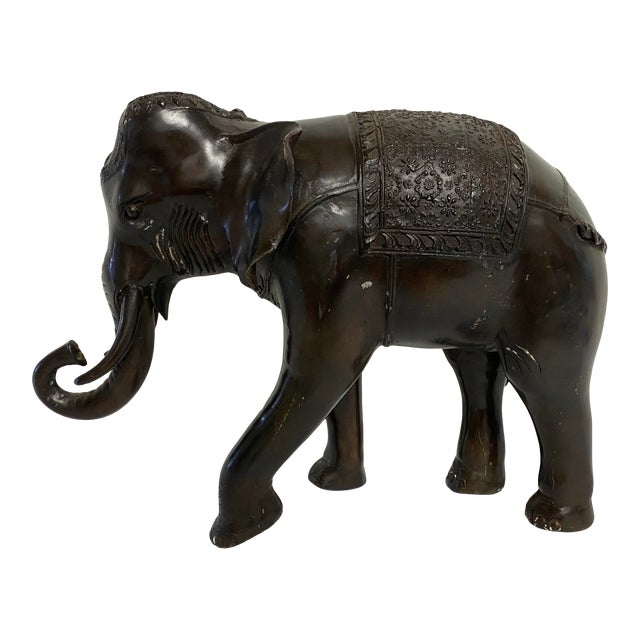 Bronze Elephant Statue For Sale