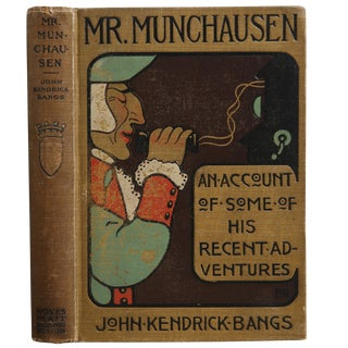 "1901 ""Mr. Munchausen"" Collectible Book For Sale"