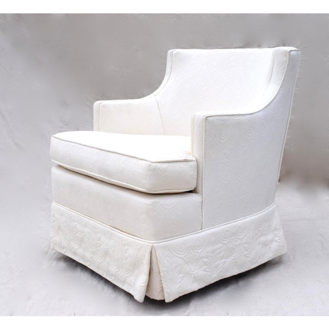 Swivel Rocking Club Chairs - A Pair - Image 7 of 11